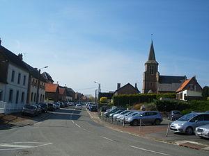 Moyenneville, Pas-de-Calais - A general view of Moyenneville