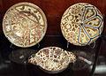 Muel, piatti e ciotola, 1550-1610 ca., ultimo a dx 1600-25 ca..JPG