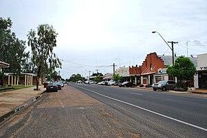 Mungindi - Main street