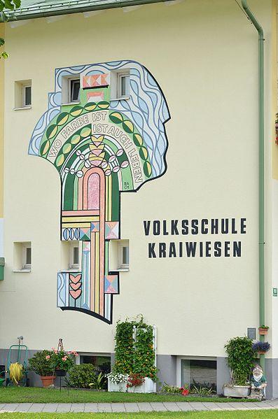 File:Mural Volksschule Kraiwiesen, Eugendorf.jpg