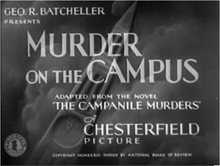 Description de l'image Murder on the campus Richard Thorpe.png.