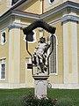 Mureck Figurenbildstock, hl. Sebastian.JPG