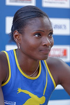 Muriel Hurtis French Athletics Championships 2013 n01.jpg