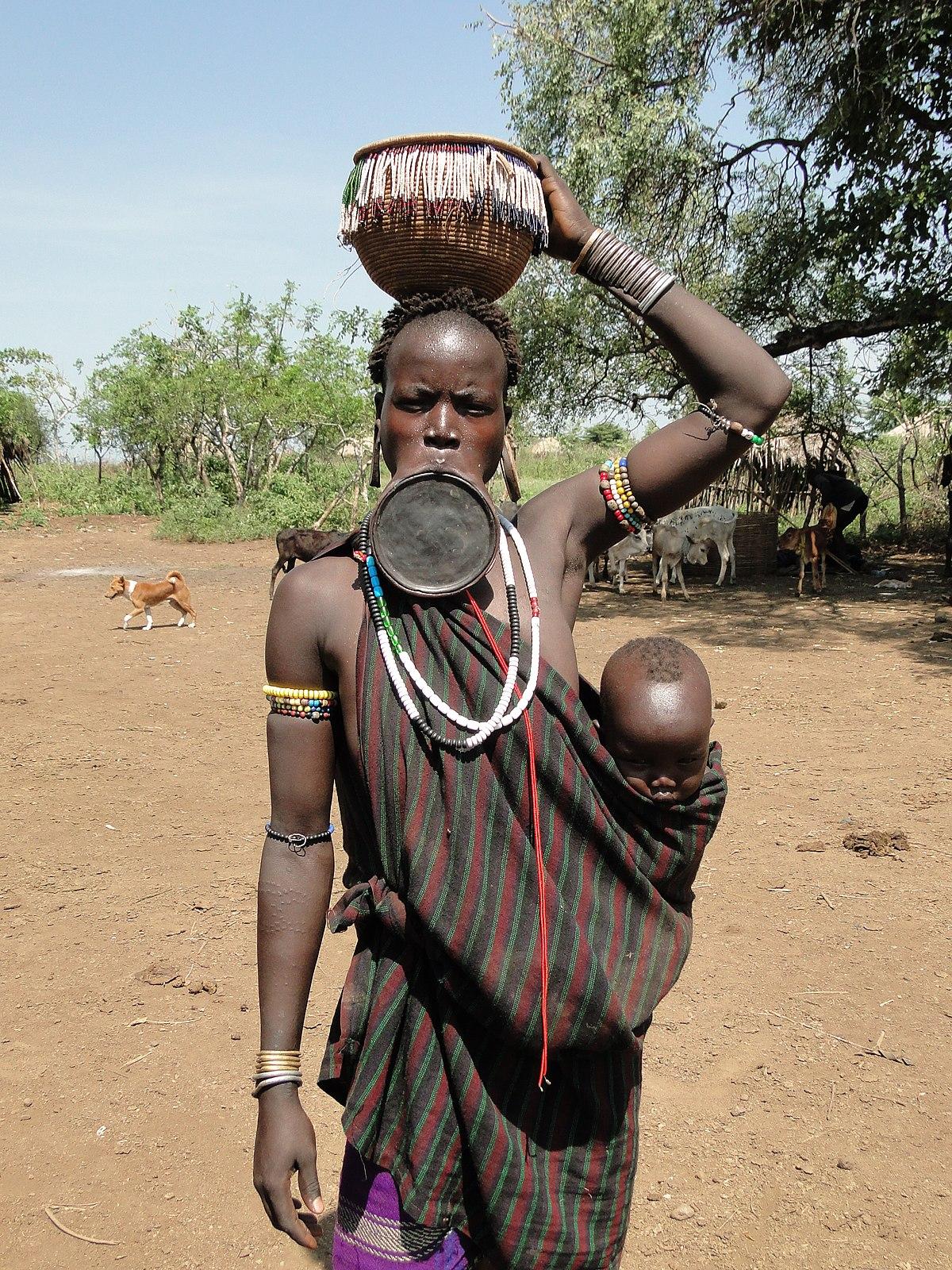 extrem afrikansk naken