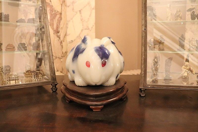 Filemusée Dennery Lapin En Porcelaine 01jpg Wikimedia