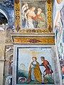 Museo di Santa Giulia Coro delle Monache affreschi cappella centrale arcata sinistra Paolo da Caylina Brescia.jpg