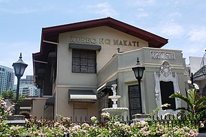 Poblacion, Makati - Museo ng Makati situated along J.P. Rizal Avenue.