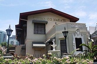 Poblacion, Makati - Museo ng Makati situated along J.P. Rizal Avenue.