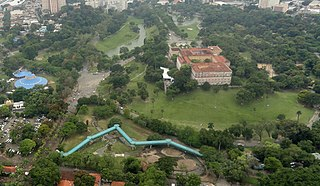public park in Rio de Janeiro, Brazil