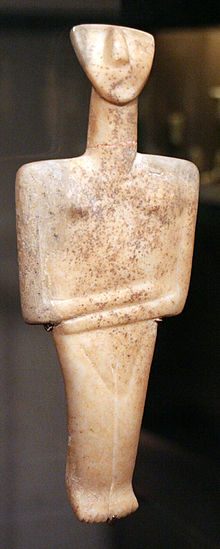 Early Cycladic sculpture in context in SearchWorks catalog