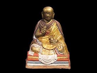 Jebtsundamba Khutuktu - Statue of Zanabazar, the 1st Jetsun Damba