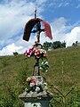 Muszyna-Szczawnik, roadside cross Lemko 1.jpg