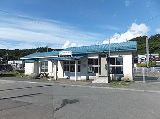 Mutsu-Iwasaki Station - Mutu-Iwasaki Station in August 2017
