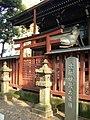 Myoken Shrine (妙見堂) in Kishimojin Hall (鬼子母神堂) of Homyo-ji (法明寺) - panoramio.jpg