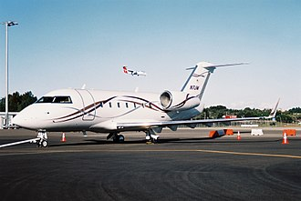 Joyce Meyer - Joyce Meyer used to travel in this Canadair Challenger 600S; seen here in Sydney, Australia, when she was a 'special guest' at the Hillsong Conference in July 2005. It has since been replaced by a Gulfstream G-IV (serial number 1132)