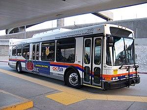 Orange County Transportation Authority - Image: NABI 40.09 LFW bus OCTA