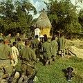 NARA 111-CC-33194 Catholic Chaplain Captain Bruno Massoti Conducts Services Operation Van Buren 1966.jpg