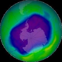 Ανταρκτική-Τρύπα του όζοντος-NASA and NOAA Announce Ozone Hole is a Double Record Breaker