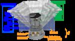 NASA space telescope SPHEREx MIDEX cutaway.png
