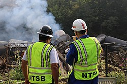 NTSB on-scene at Hyndman derailment