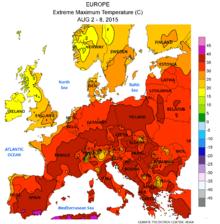 List of heat waves - Wikipedia