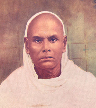Narayana Guru - Shri Narayana Guru at the age of sixty.