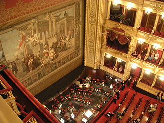 Theatre of the Czech Republic - Interior of the National Theatre, 2007