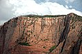 Navajo Sandstone (Lower Jurassic), Timber Top Mountain, Kolob Canyons, Zion National Park, sw Utah 2 (8423912537).jpg