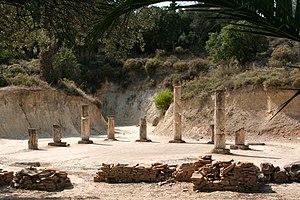 Nemea - The apodyterium near the stadion