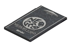 Neo Geo (system) - Neo Geo Memory Card