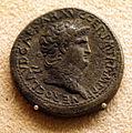 Nerone, moneta in ottone.JPG