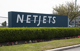 NetJets - Entrance to NetJets Aviation (KCMH)