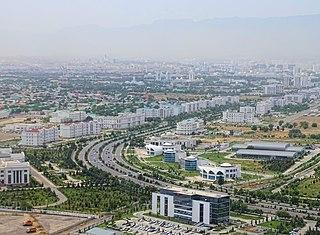 Place in Turkmenistan
