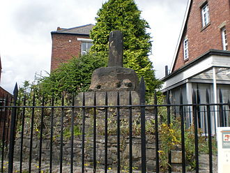 Battle of Neville's Cross - The remains of Neville's Cross, on Crossgate in Durham