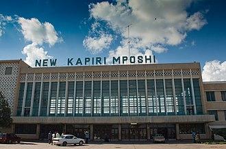 Zambia Railways - Kapiri Mposhi station