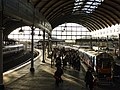 Newcastle Central Station Waiting On Platform 9 (geograph 3256497).jpg