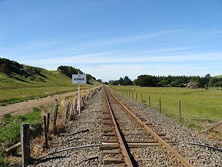 Newman railway station railway station