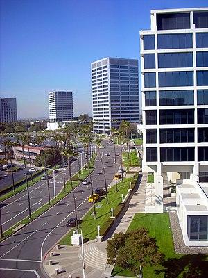 English: Newport Center in Newport Beach, Cali...