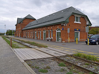 railway station in Niagara Falls, Canada