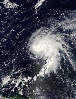 Tropical Storm Nicholas Atlantic tropical storm in 2003