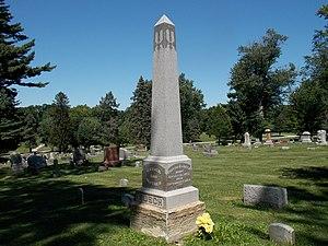 Nicholas J. Rusch - Rusch grave in Pine Hill Cemetery