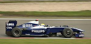 Williams FW31 - Image: Nico Rosberg 2009 Germany 2