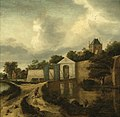 Nicolaes Hals - View of Haarlem outside the Zijlpoort FHM OS-73-44.jpg
