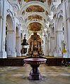 Niederaltaich Klosterbasilika St. Nikolaus Innen 1.JPG