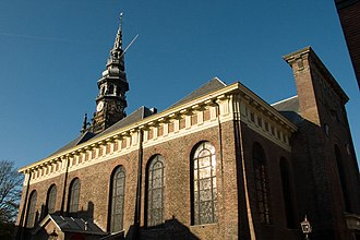 "Jacob van Campen - The ""Nieuwe Kerk"" in Haarlem"