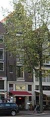 foto van Pakhuis met klokgevel waarin twee oeils-de-boeuf