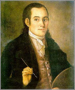Nikola Nešković - Nikola Neskovic, Self Portrait