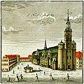 Nikolaikirche Leipzg 1749 (Kupferstich) Foto H.-P.Haack.JPG