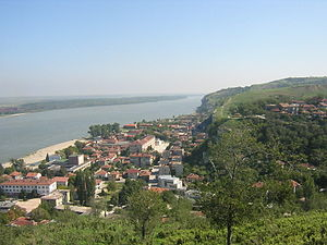 Nikopol, Bulgaria - View of Nikopol from the fortress