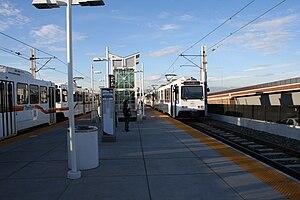 Nine Mile station - Image: Nine Mile RTD